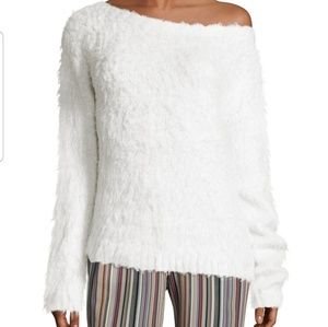 theory irinka plush silk sweater
